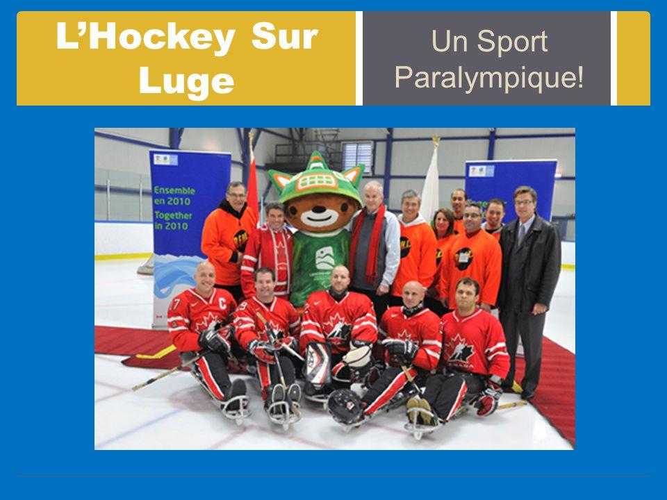 L'Hockey Sur Luge Un Sport Paralympique!