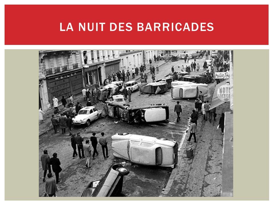 LA NUIT DES BARRICADES