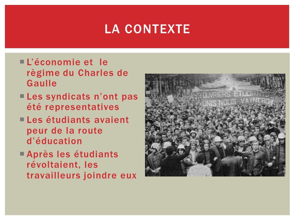  Charles de Gaulle  WWII héros  Décentralisateur  Fort influence du gouvernment sur l'économie  Très charismatique CINQIÈME RÉPUBLIQUE