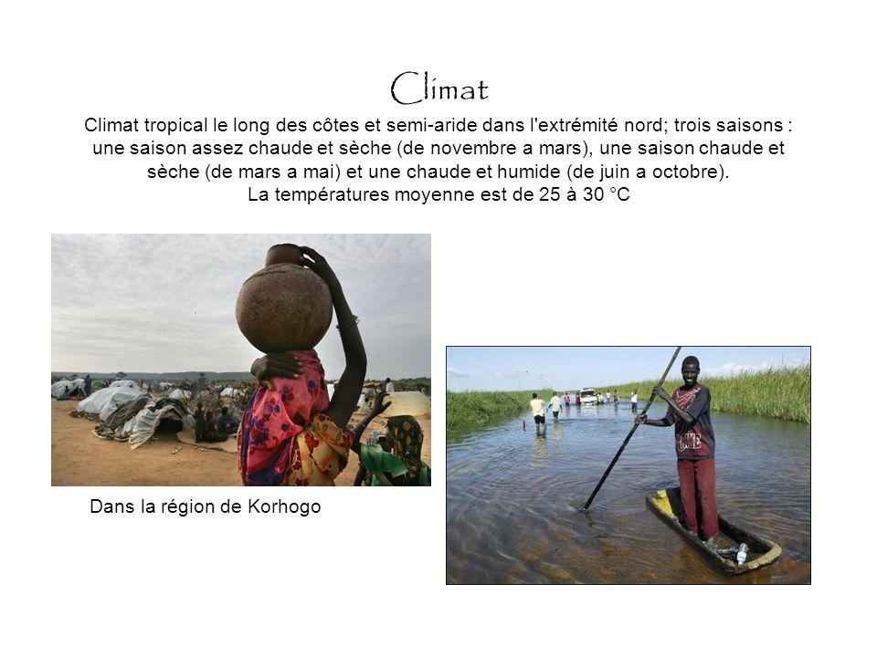 géographie Son paysage représente à lui seul toute l'Afrique sud saharienne.