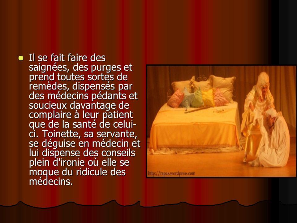 Angélique, sa fille, aime Cléante au grand dépit d Argan.