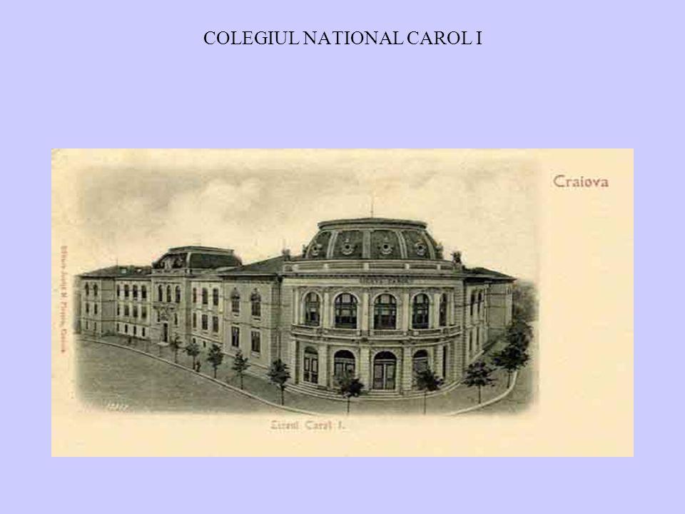 COLEGIUL NATIONAL CAROL I