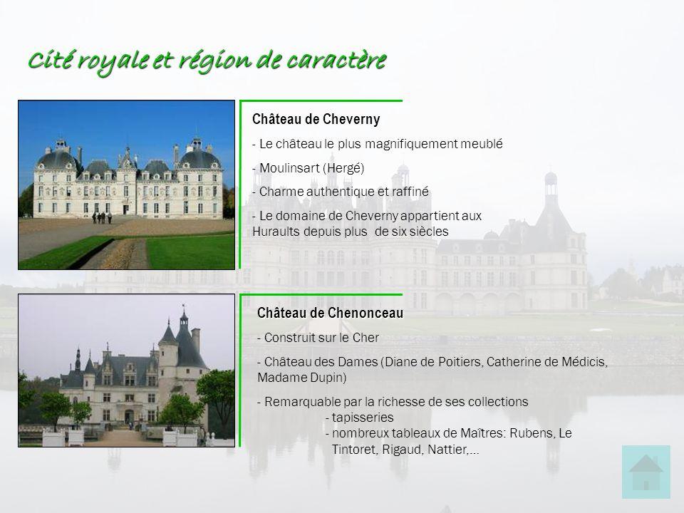 Cité royale et région de caractère Château de Cheverny - Le château le plus magnifiquement meublé - Moulinsart (Hergé) - Charme authentique et raffiné