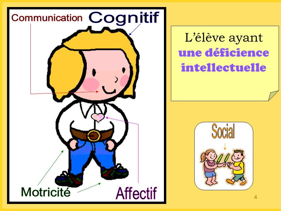 4 L'élève ayant une déficience intellectuelle