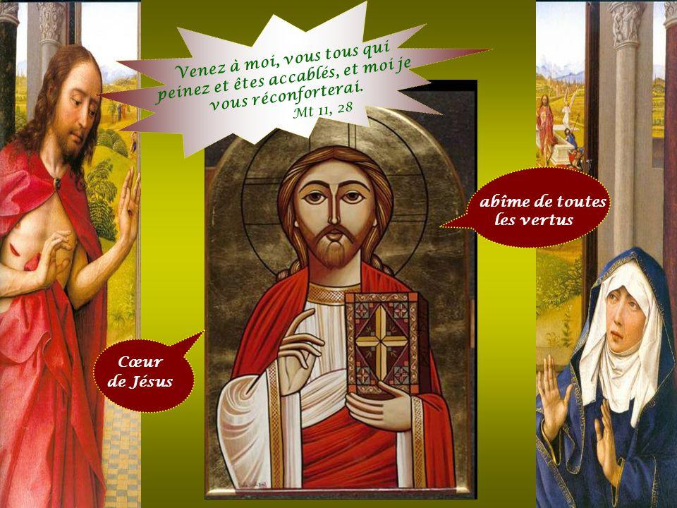 Et pour reconnaissance je ne reçois de la plupart que l 'ingratitude et le mépris ». Jésus à Sainte Marguerite-Marie Cœur de Jésus plein de bonté et d
