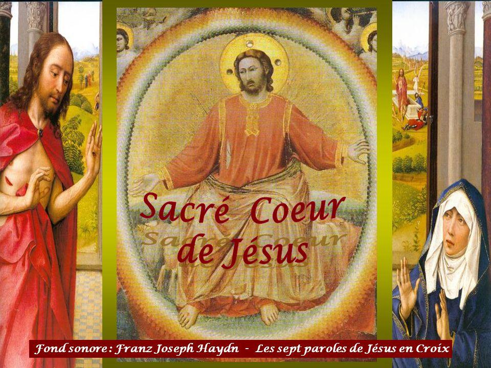 Ce diaporama consacré au Sacré Cœur de Jésus est une prière. Laissez tous soucis, toutes pensées inutiles de côté, pour rendre hommage à notre cher Jé
