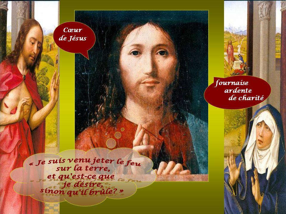 Cœur de Jésus A c a u s e d e n o s f a u t e s, i l a é t é t r a n s p e r c é, p a r s e s b l e s s u r e s, n o u s s o m m e s g u é r i s. ( I