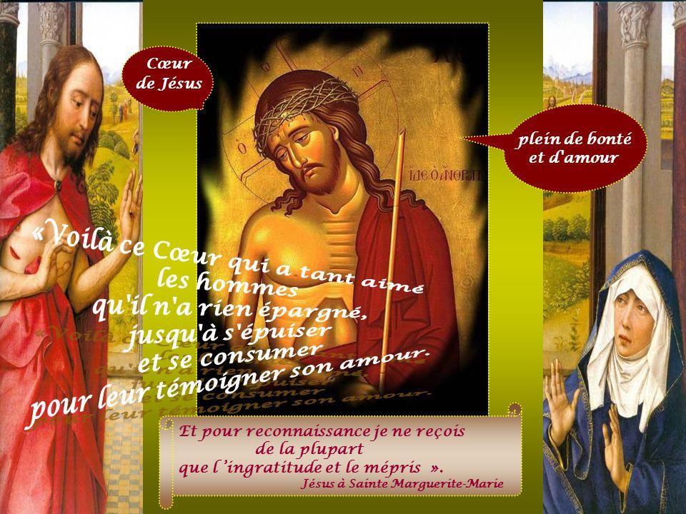 Cœur de Jésus …Il voulait se la présenter à lui-même, cette Église, resplendissante, sans tache, ni ride, ni aucun défaut ; il la voulait sainte et im
