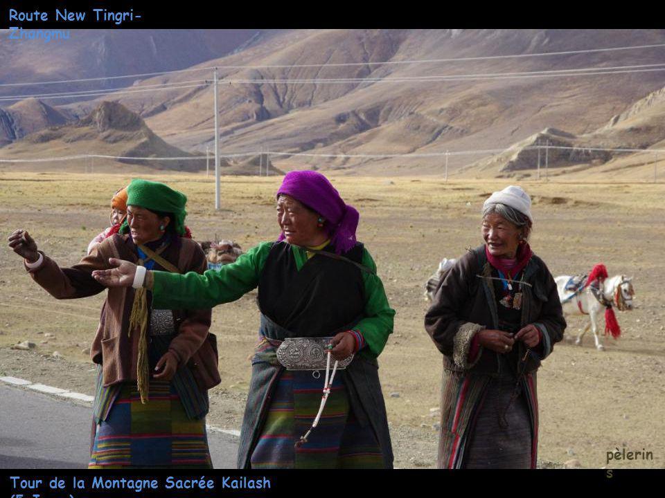 Tour de la Montagne Sacrée Kailash (5 Jours) pèlerinag e Route New Tingri- Zhangmu