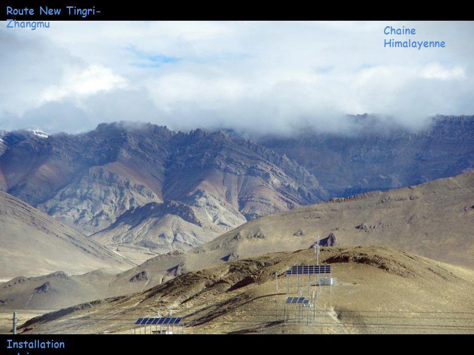 Chaine Himalayenne Route New Tingri- Zhangmu