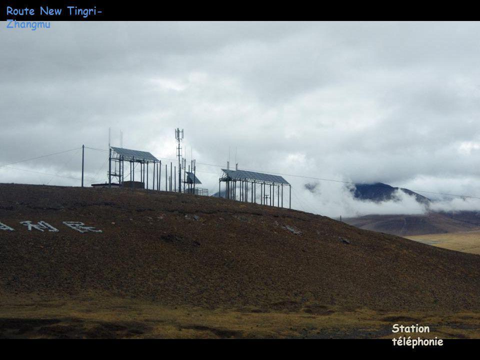 Route New Tingri- Zhangmu Reboiseme nt