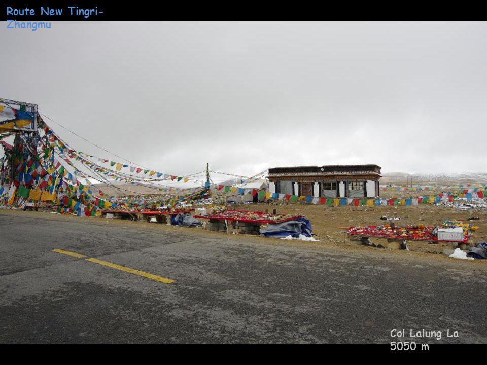 Route New Tingri- Zhangmu Station téléphonie