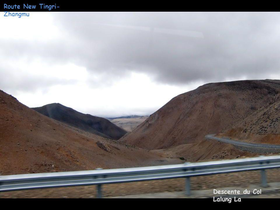 Route New Tingri- Zhangmu Col Lalung La 5050 m