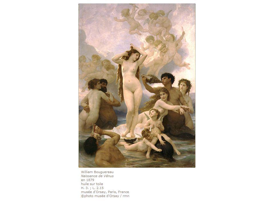 1863: Cabanel, Naissance de Vénus, musée d'Orsay, Paris