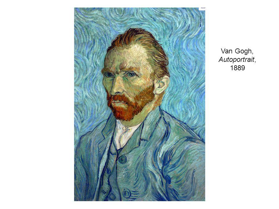 Van Gogh, Autoportrait, 1889