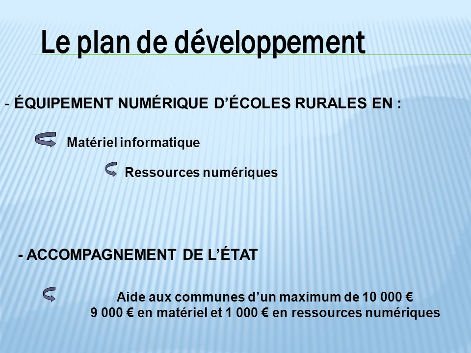 Un budget éducation nationale de 520 000 €
