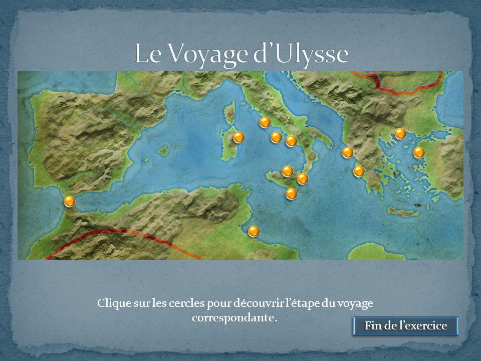 Sur l'Île de Calypso, Ulysse reste sept ans, prisonnier de cette belle nymphe, tombée amoureuse de lui.