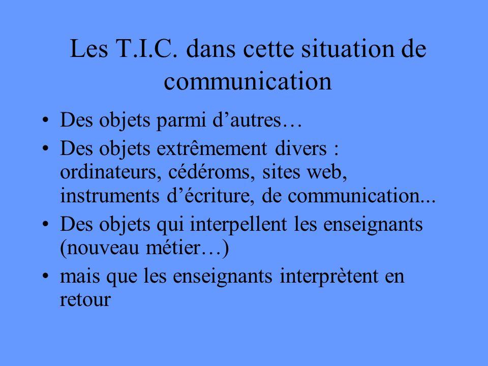 Les T.I.C.