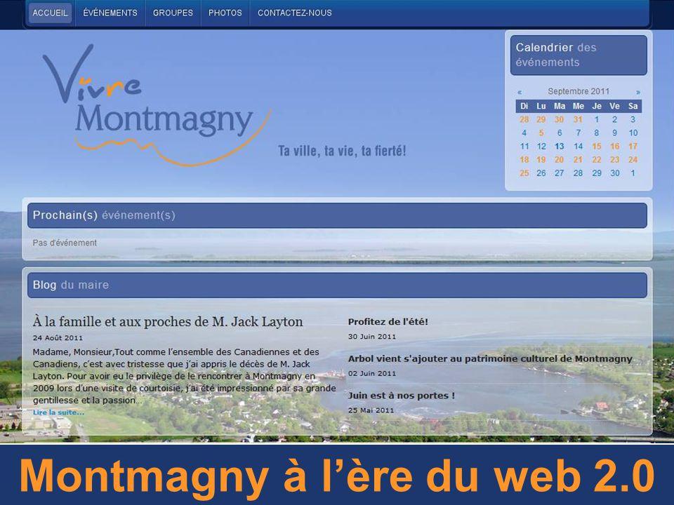 Montmagny à l'ère du web 2.0