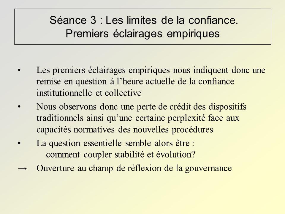 Séance 3 : Les limites de la confiance.