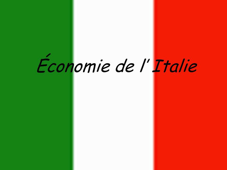 Économie de l' Italie