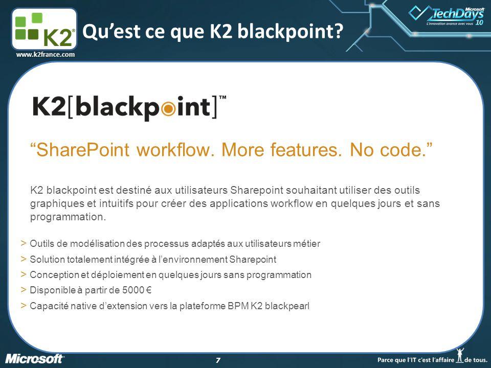 18 www.k2france.com Les outils de modélisation K2 Studio