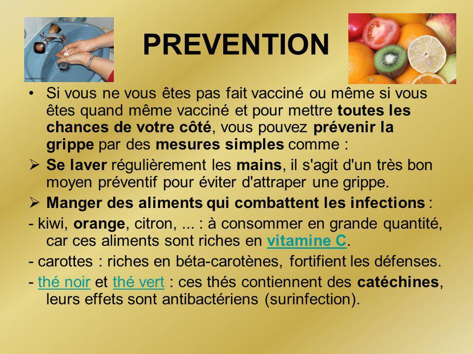 VACCINATION •Cette vaccination saisonnière contient donc pour partie des souches de virus A H1N1 sans pouvoir certifié que ce soit le même que le virus A circulant actuellement ; •Il a été étudié que cette vaccination saisonnière permettrait une couverture quasi-complète chez 10 à 30% de sujets vaccinés ; •Après une dose du vaccin de la grippe H1N1 cette couverture vaccinale passerait à 98%