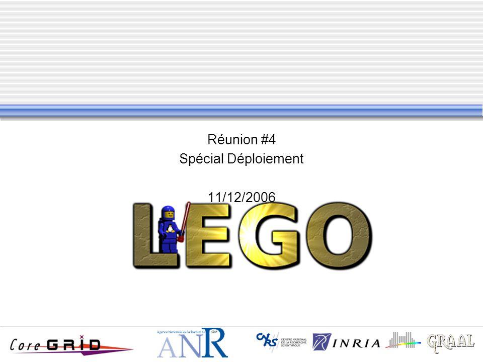 Réunion #4 Spécial Déploiement 11/12/2006