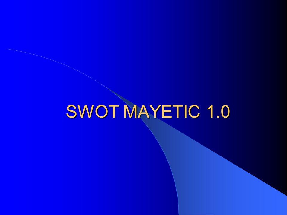 SWOT MAYETIC 1.0