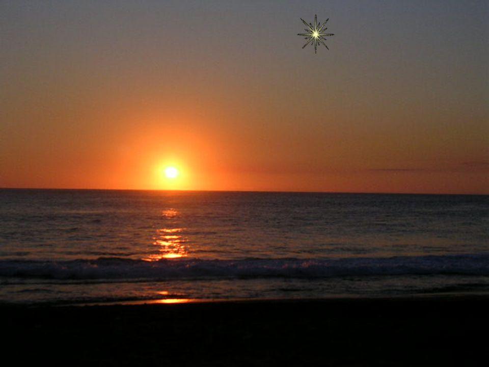 Si tu le peux, lève les yeux et regarde: Aujourd'hui, pour toi, Une étoile s'est levée au firmament.