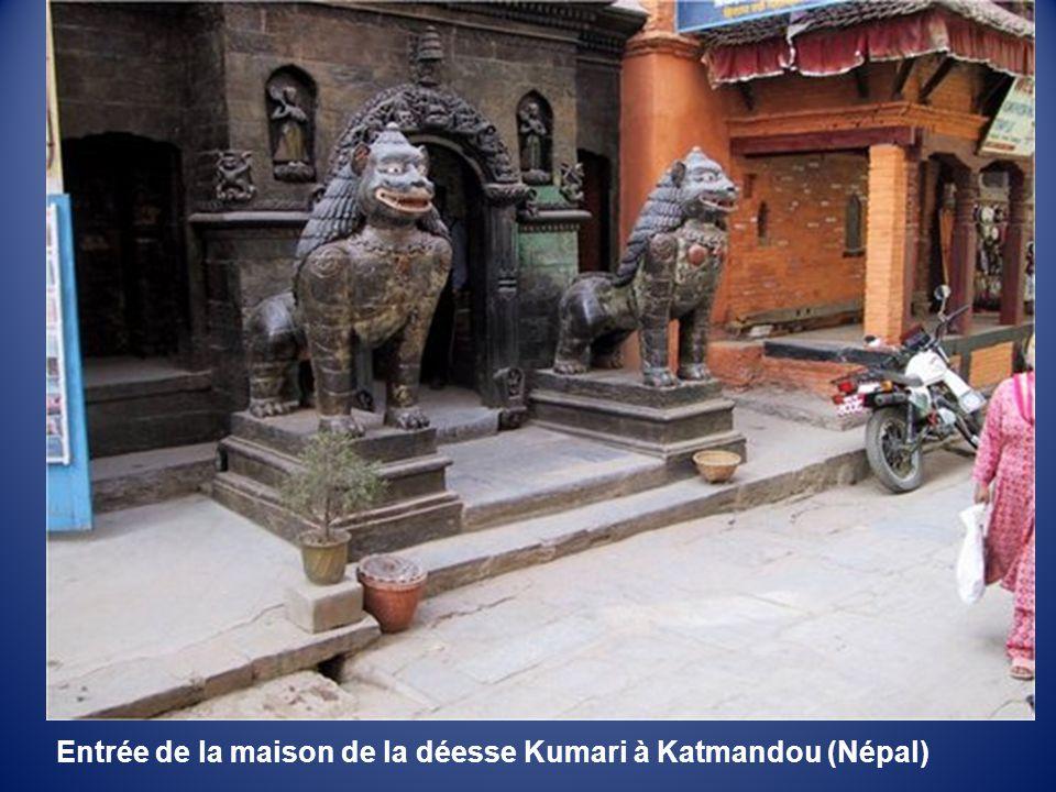 Rue de Bhaktapur (Népal)