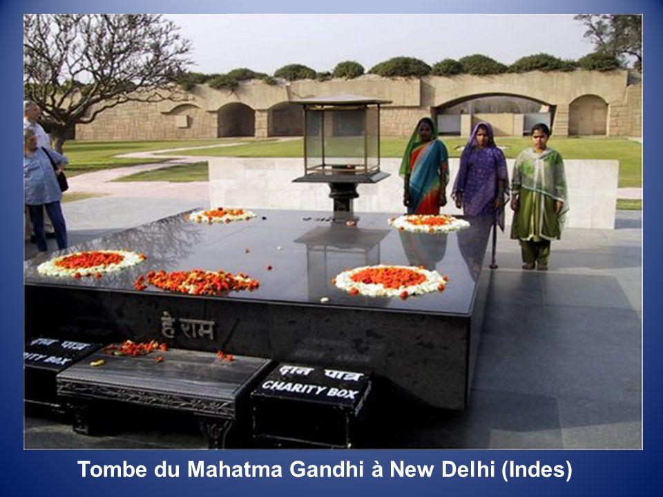 La Porte de l'Inde à New Delhi (Indes)