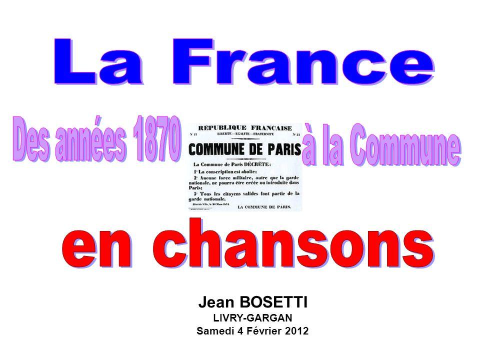 Jean BOSETTI LIVRY-GARGAN Samedi 4 Février 2012