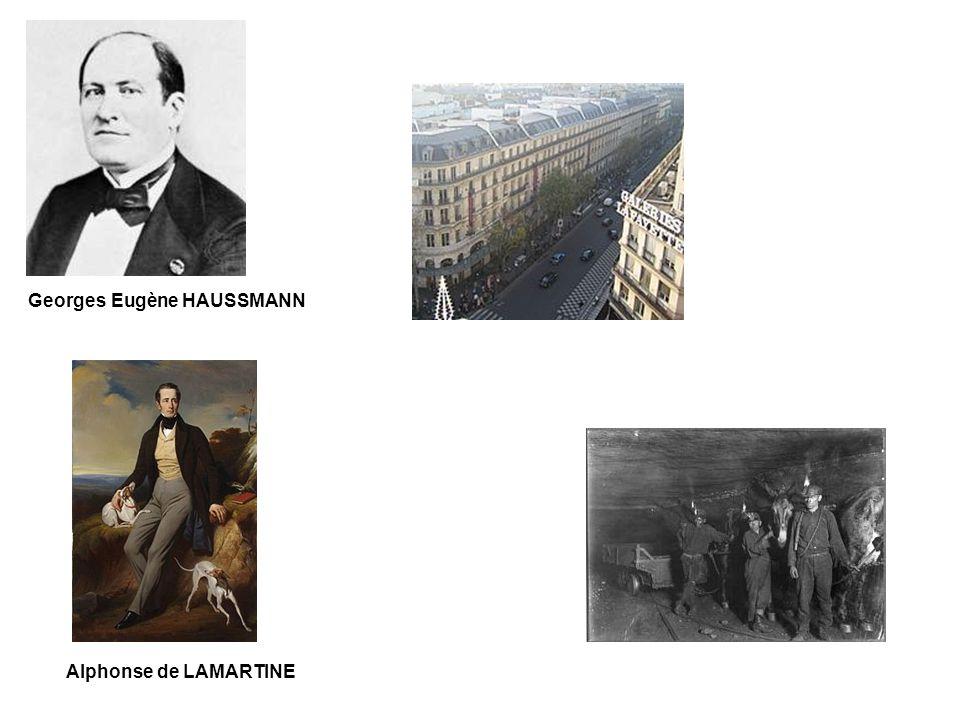 Georges Eugène HAUSSMANN Alphonse de LAMARTINE