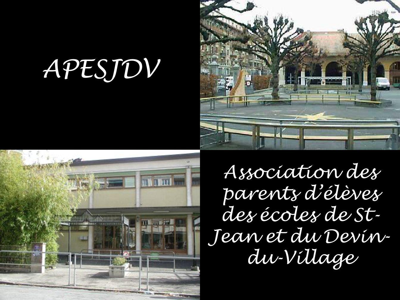 APESJDV Association des parents d'élèves des écoles de St- Jean et du Devin- du-Village
