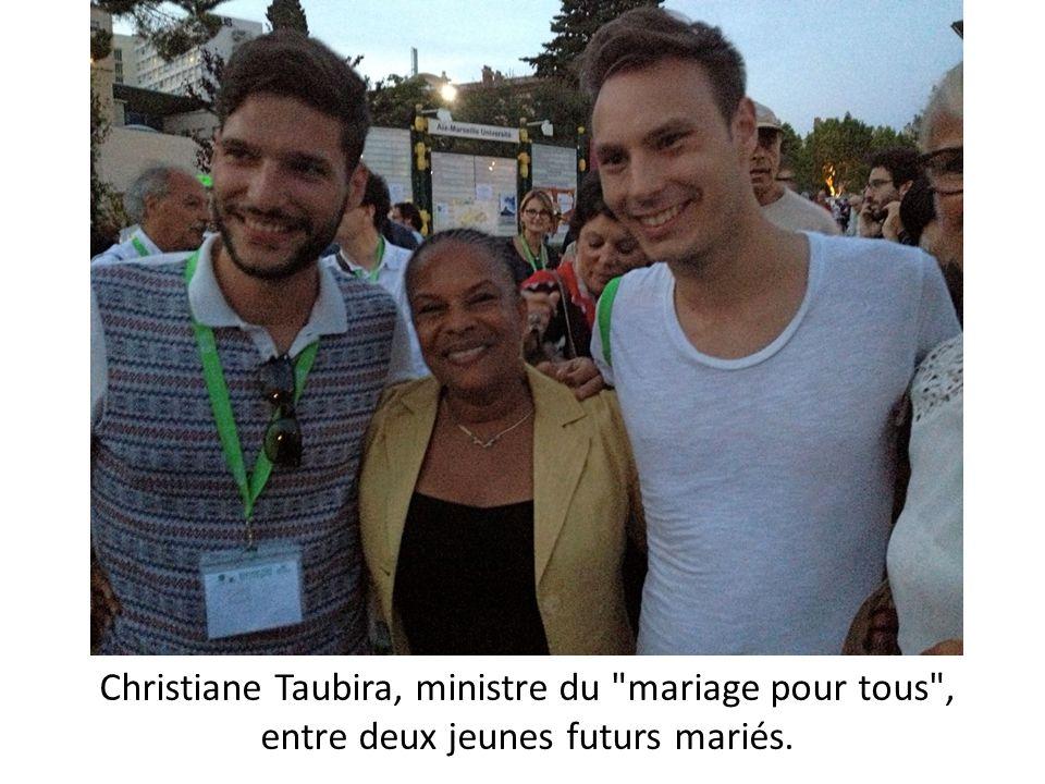 Christiane Taubira, ministre du