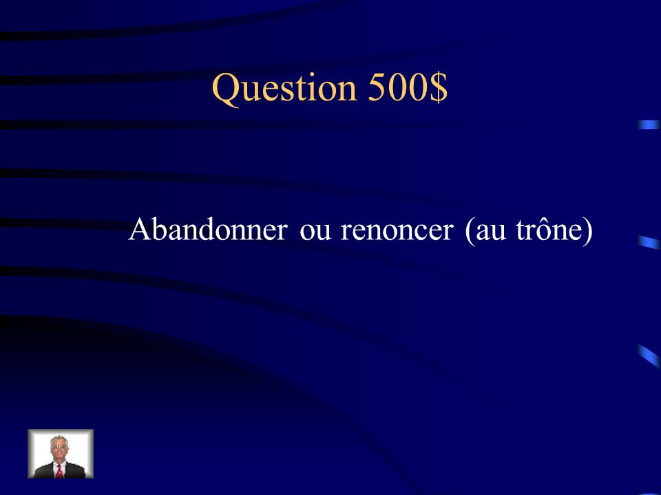 Réponse $400 Dissidents