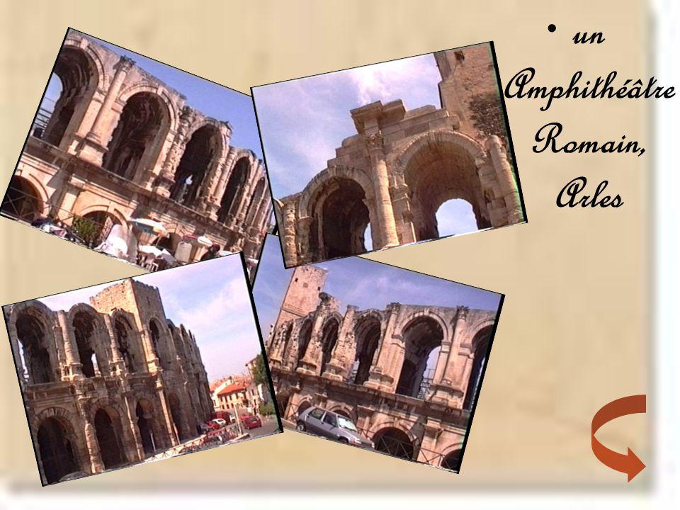 •un Amphithéâtre Romain, Arles