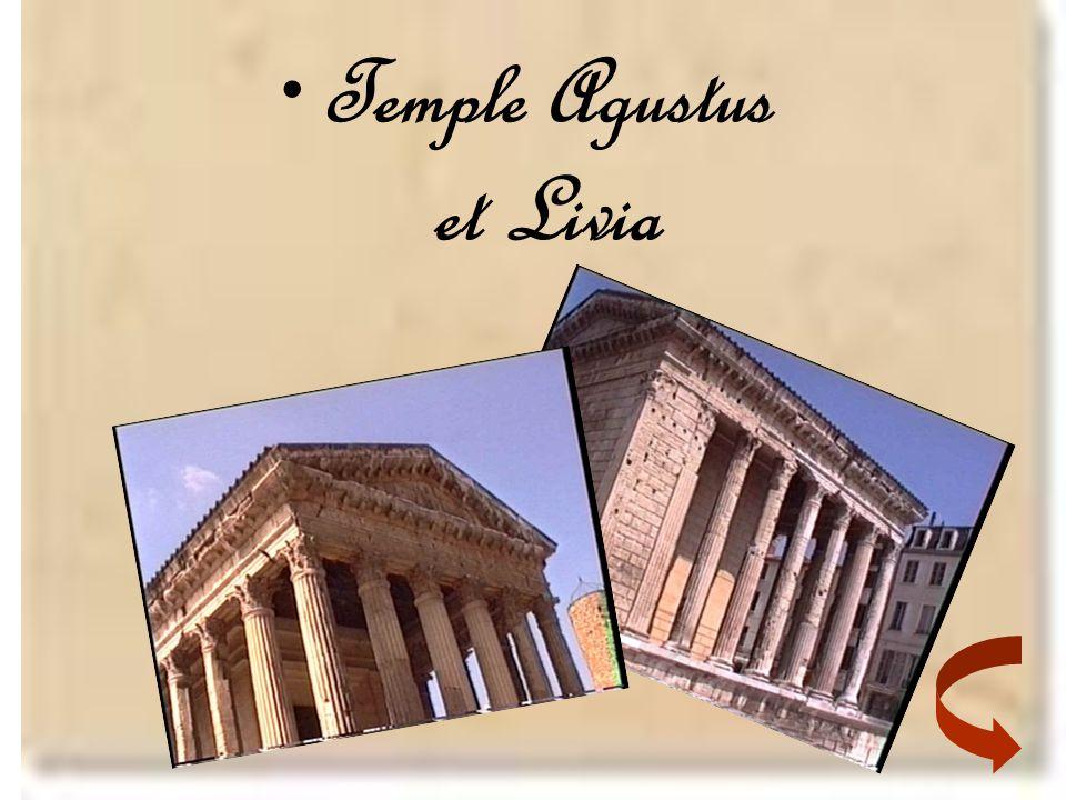 •Temple Agustus et Livia