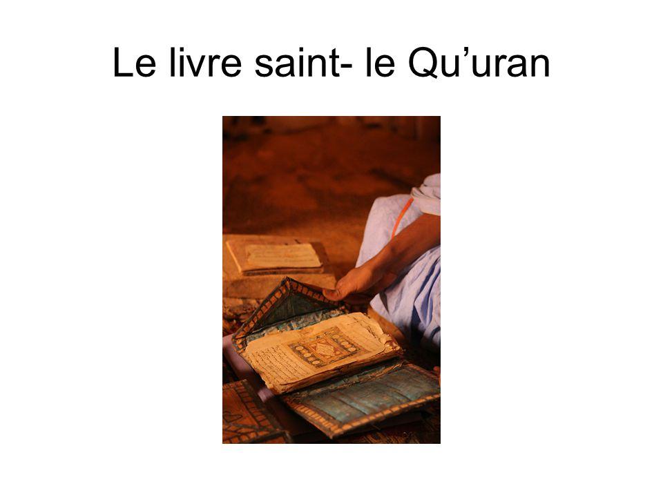 Le livre saint- le Qu'uran