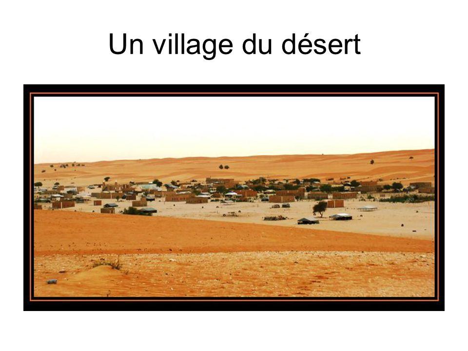 Un village du désert