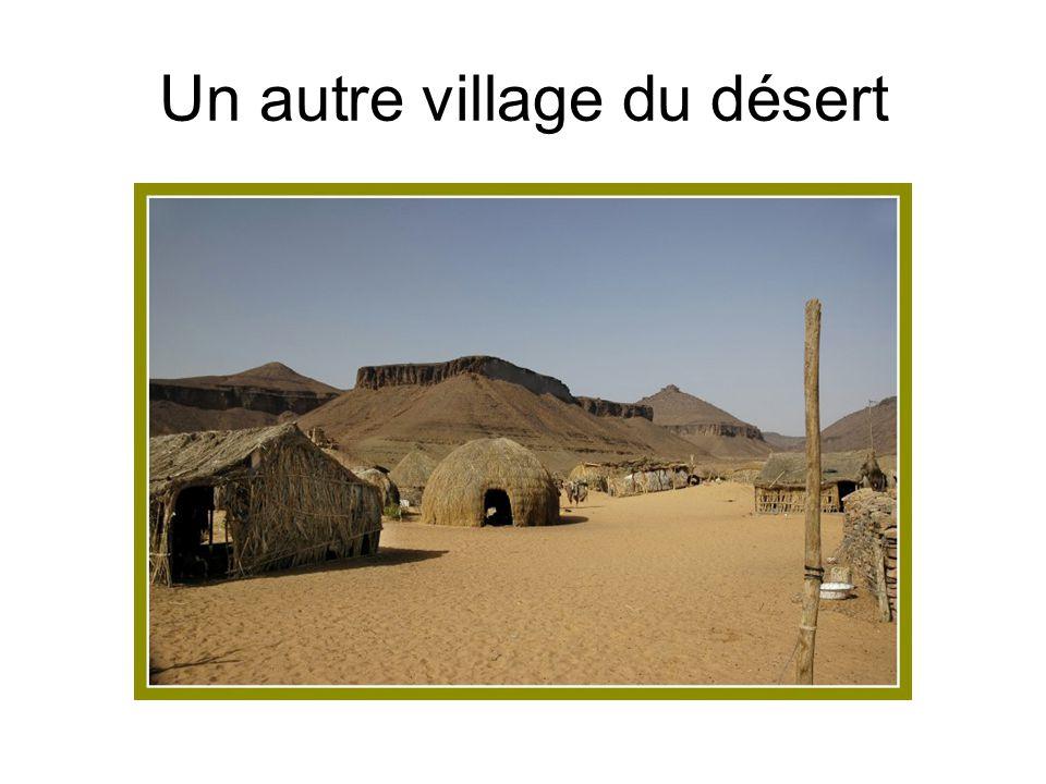Un autre village du désert