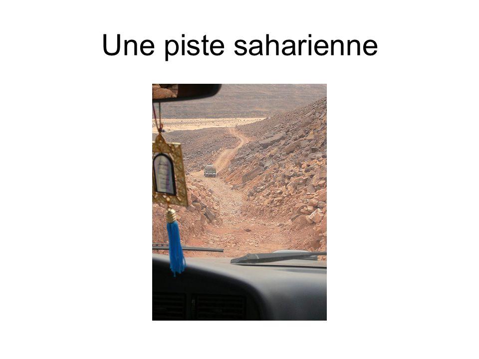 Une piste saharienne