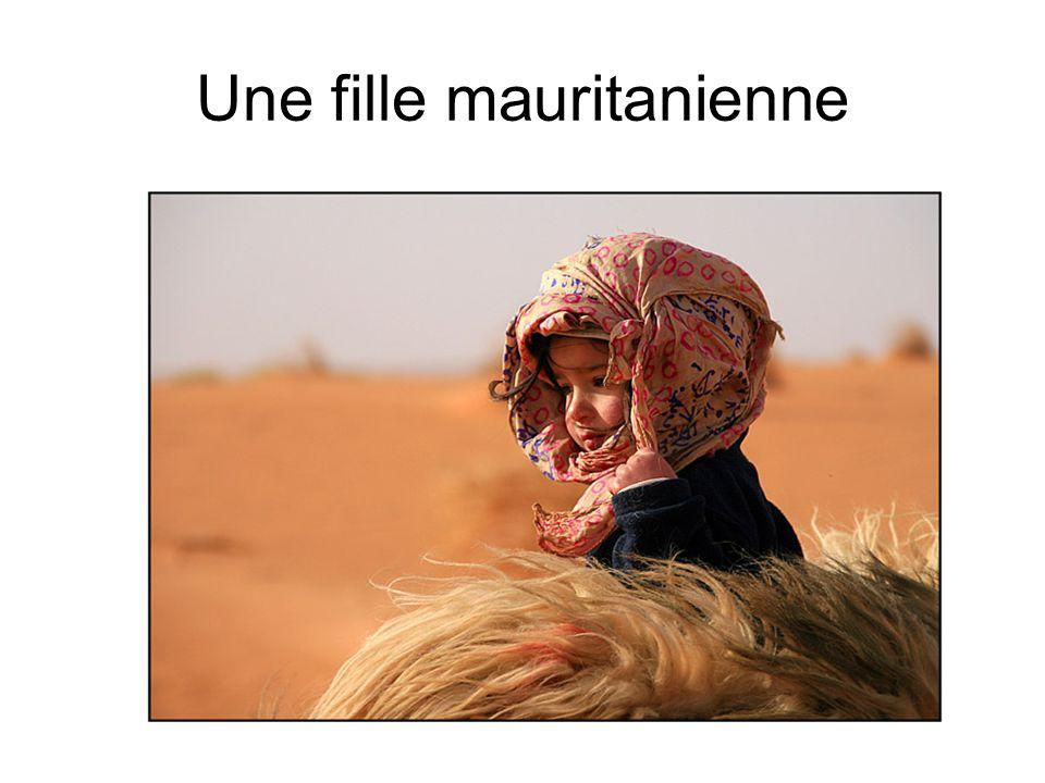 Une fille mauritanienne