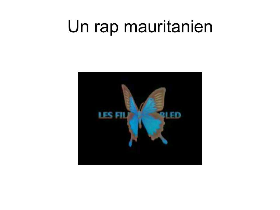 Un rap mauritanien