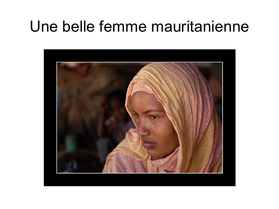 Une belle femme mauritanienne