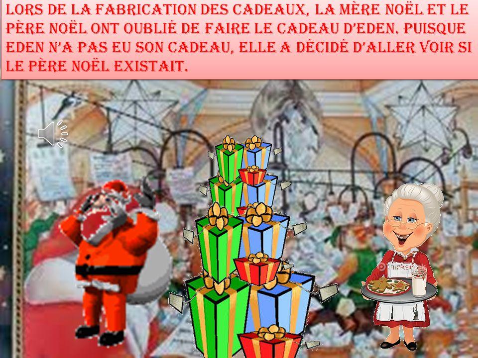 Le 24 décembre 2013, le Père Noël et la Mère Noël préparent les cadeaux pour les enfants du monde.