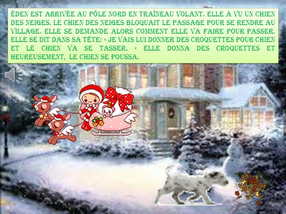 Lors de la fabrication des cadeaux, La Mère Noël et le Père Noël ont oublié de faire le cadeau d'eden.