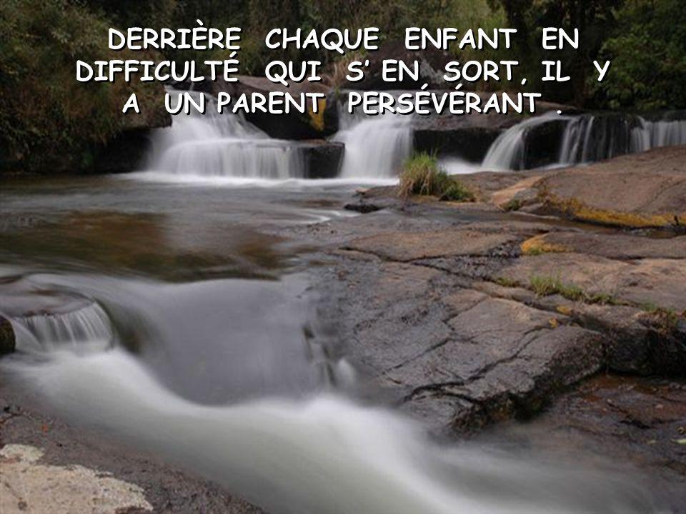 COMMENT POURRIONS–NOUS REMETTRE À NOS PARENTS TOUT CE QU'ILS NOUS ONT DONNÉ.