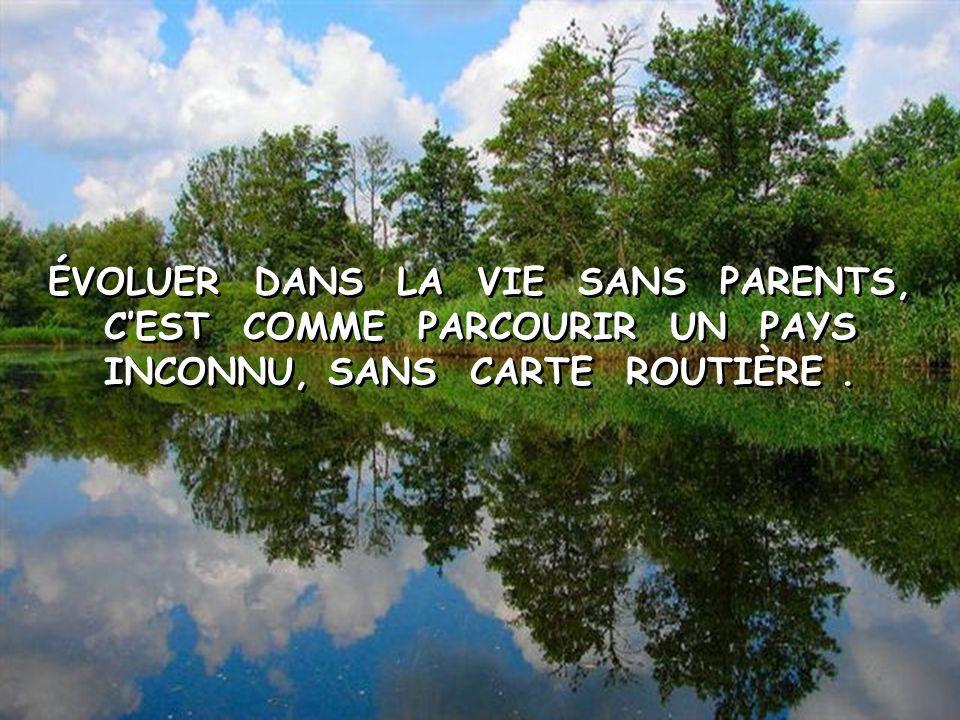 ENTRETIENS BIEN LE JARDIN DE L'AMOUR PARENTAL. IL EST LA SEULE CHOSE VRAIE EN CE MONDE, SUR LAQUELLE TU POURRAS TOUJOURS T'APPUYER !